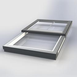 Flat Glass Electrically Sliding Rooflight image