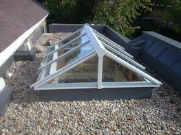 Glass/Aluminium Ridgelights – Gable End image