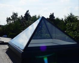 Pyramid Skylight image