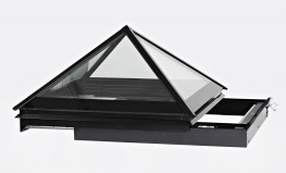 The Pyramid & Slimline Sliding Rooflights image
