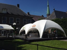Crossover Large 68m2 Temporary Event Shade Structure - Shaded Nation