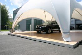 Crossover Large 68m2 Temporary Event Shade Structure image