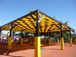 Pergola Weave Shade Structure Canopy image