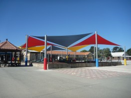 Hamilton Multiple Sail Shade Structure Canopy image