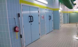 Swimming Pools GRP - Hygienic Hinged GRP Doors image