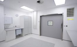 Hospital X-Ray Departments - Hygienic Hermetically Sealing Sliding Doors - Lead Lined image