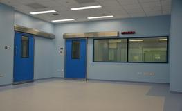 Hospital X-Ray Departments -  Hygienic Sliding GRP Doors - Lead Lined image