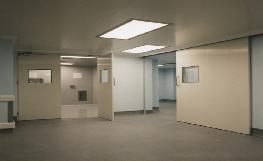 Pharma & Biotech - Hygienic Sliding GRP Doors image