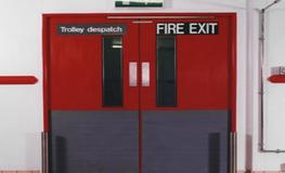 Warehouse & Stock Rooms -  Hygienic Hinged GRP Fire Doors image