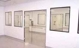 Hygienic Glass Hinged Doors image