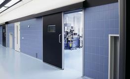 Hygienic Hermetically Sealing Sliding Doors - Lead Lined image