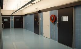 Vivariums - Hygienic Sliding GRP Fire Doors image