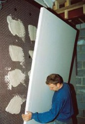 The 'Original' damp-proof plastic membrane systems which eliminates dampness, the effects of salts and contaminated backgrounds....