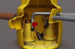 Dual V3 Sump Pump - Delta Membrane Systems Limited
