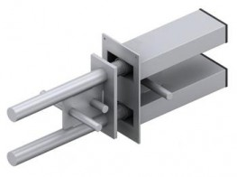 The DSDQ is a high load double-dowel connector used to transfer shear across expansion and contraction joints in concrete....