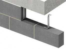 The IHR-B provides the necessary restraint to the top of masonry walls and accommodates vertical movement....