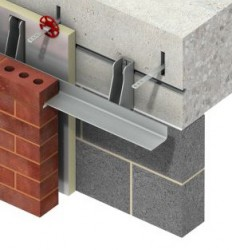 MDC is a stainless steel bracket-angle system to support masonry cladding....