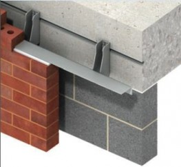 MDC-R is a bespoke stainless steel masonry support system with a reversed angle welded to the bracket...