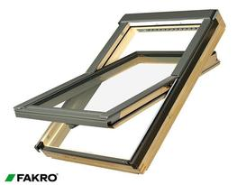 FTP-V P2 Natural Pine, Laminated Double Glazed Centre Pivot Window image