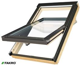 FTT U8 Natural Pine, Highly Energy Efficient, Quadruple Glazed Centre Pivot Window image