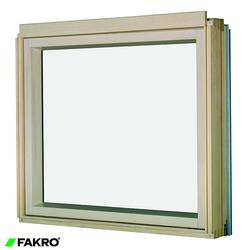 BXP P2 Natural Pine, Laminated Double Glazed Fixed Shut L-Shape Combination Window image