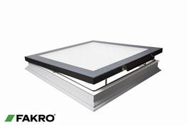DMF-D U6 Secure Manually Operated Non-domed Triple Glazed Flat Roof Window - FAKRO
