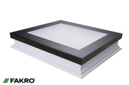 DXF-D U6 Fixed Shut Non-domed Triple Glazed Flat Roof Window - FAKRO