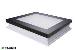 DRF-D U6 Non-Domed Triple Glazed Flat Roof Access Roof Window image