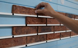 EasylationWall - External Wall Insulation System based on brick slips image