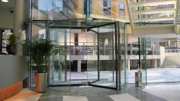 Creating an entrance that compliments your building's façade is simple with our Crystal Tourniket; one of the most impressive revolving doors available. Constructed almost entirely from glass, with only a few stainless steel accents to ensure the solidity o...