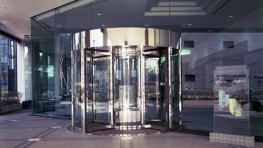 A Classic High Capacity Revolving Door. The versatile Tournex has many of the same advantages of the Tourniket, but can handle higher capacity applications such as healthcare facilities, universities and airport terminals. The Tournex is available with three o...