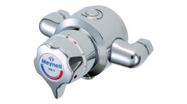 """1/2"""" exposed single sequential thermostatic mixing valve...."""