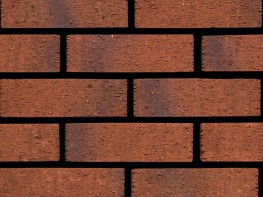 Wirecut brick (73mm), red in colour with a rusticated texture....