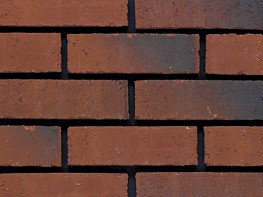 Wirecut brick (65mm), red in colour with a smooth texture....
