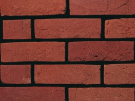 Handmade brick (65mm), red in colour with a sandcreased texture....