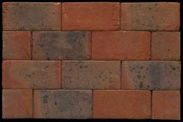 Brick Code: MN0727A Brick Name: Laybrook SUDS Red Multi Stock Paver...