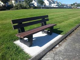 Moulded Plastic Seat & Bench image