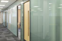 Frameless Double Glazed Partitions image
