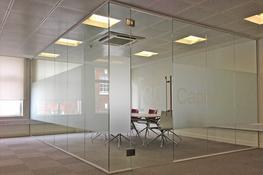 Frameless Single Glazed Partitions image