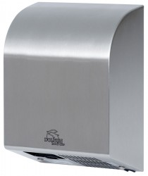 Hot Air Hand Dryer: - Stylish design - Tough stainless steel cover for strength and durability - Superior technical design - dual thermal overload protection on motor & heating element -Certification of Compliance to foremost international Safety standards (CE...