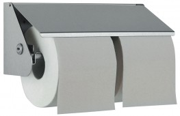 Prestige Toilet Roll Holder: - Superior quality and timeless design for prestigious washrooms - Easy-care 18/10 chrome nickel stainless steel - Satin finish, welded corners - no sharp edges - Enhanced vandal resistant construction - Easy to clean and maintain ...