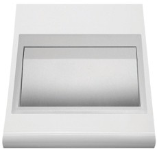 Prestige Surface Mounted Bin Flap: - Superior quality and timeless design for prestigious washrooms - Easy-care 18/10 chrome nickel stainless steel bin flap - Satin finish, welded corners - no sharp edges - Self closing flap - Also available in polished stainl...
