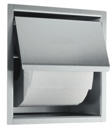 Prestige Toilet Paper Dispenser: - Superior quality and timeless design for prestigious washrooms - Easy-care 18/10 chrome nickel stainless steel - Satin finish - no sharp edges - Full Stainless Steel housing - Holds one roll, maximum 125mm diameter - Also ava...