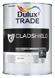 Cladshield from Dulux Trade offers exterior durability and protection for Plastisol coated and coil cladded buildings. The unique properties provide a tough and durable paint film that is suitable for application over previously painted and weathered cladding....