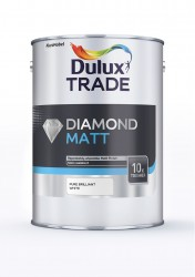 A tough, water-based matt emulsion paint that uses Diamond Technology from Dulux Trade, making it 10 times tougher than Dulux Trade Vinyl Silk and Dulux Trade Vinyl Matt. Ideal for high traffic areas such as stairwells and hallways, it is resistant to typical ...