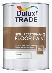 A water-based two-pack epoxy floor paint, suitable for high traffic areas. Its hard wearing properties make it suitable for both interior and exterior use. It offers excellent abrasion resistance on concrete and metal floors, drying to a highly durable mid-she...