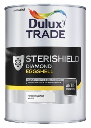 A quick drying, water-based coating containing an in-film bactericide, which inhibits bacteria and reduces populations of MRSA and E. coli. When combined with appropriate cleaning practices, Sterishield Diamond Eggshell from Dulux Trade helps to promote a more...