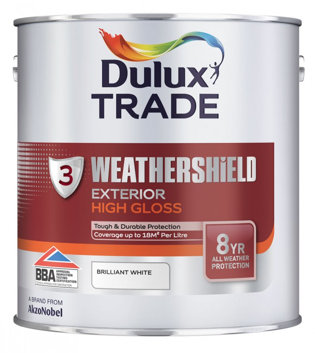 Weathershield Exterior High Gloss by Dulux Trade