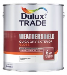 Weathershield Quick Dry Exterior Gloss - Dulux Trade