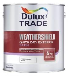 Weathershield Quick Dry Exterior Satin - Dulux Trade